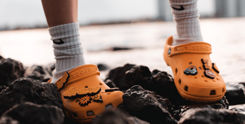 Crocs stock hits record high as company expects sales to hit $5 billion by 2026